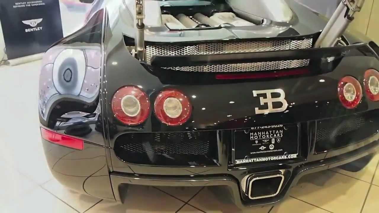 bugatti veyron at manhattan motorcars new york city hd. Black Bedroom Furniture Sets. Home Design Ideas