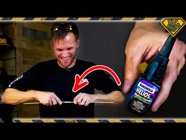 This GLUE Cures with LIGHT