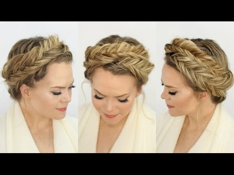 Inverted Fishtail Crown Braid Missy SueYouTube