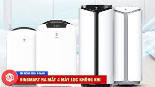 Vinsmart 'Khai Xuân', Ra Mắt 4 Máy Lọc Không Khí Tầm Giá 3 Triệu Đồng