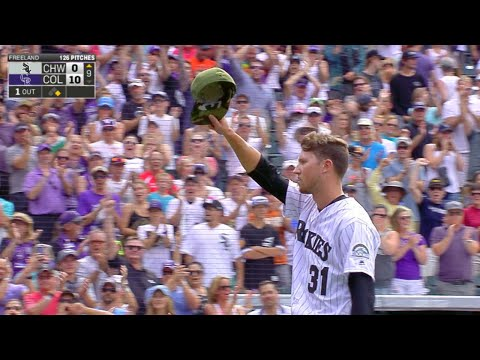 7/9/17: Freeland takes no-hitter into 9th in 10-0 win