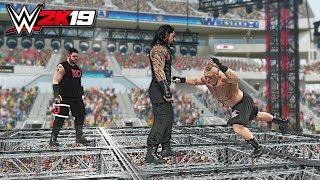 WWE 2K19 Top 10 Stolen Finisher Beatdowns Part - 6
