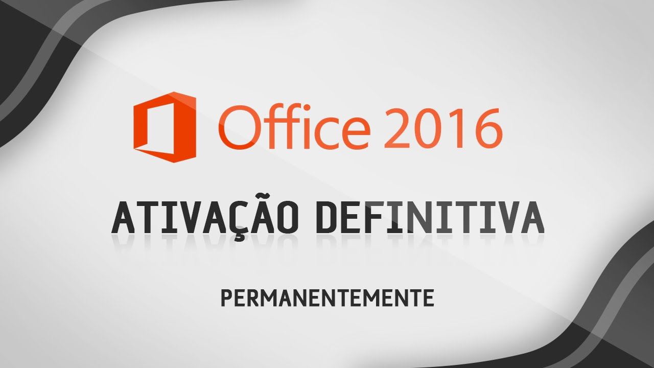 chave do office 2016 permanente