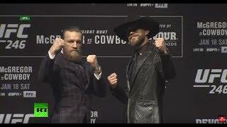 UFC star Conor McGregor returns to the Octagon