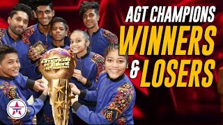 Real WINNERS and LOSERS of @America's Got Talent Champions + Message to Marcelito V. Unbeatable Fans