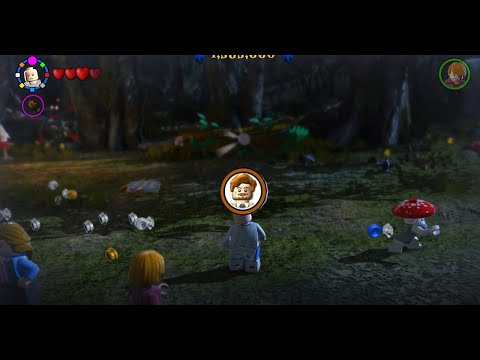 Lego Harry Potter Collection How To Unlock Remus Lupin Strong Character Free Roam Youtube