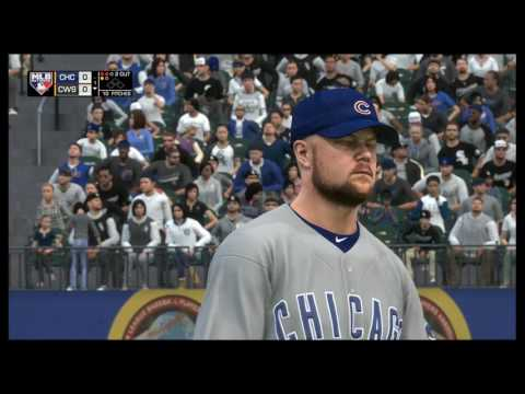 MLB The Show 17 | Cubs vs. White Sox | Guaranteed Rate Field