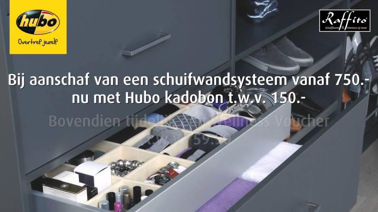 Schuifdeuren Op Maat Hubo.Hubo Raffito Iwr Youtube