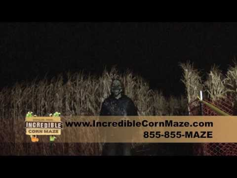 The Incredible Corn Maze Stateline Id Field of Screams
