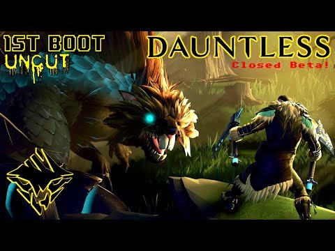 DAUNTLESS [Early Acces - Closed Beta] | 1ST-BOOT UNCUT