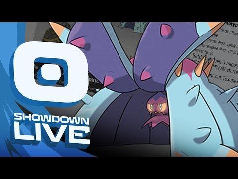 """THE REMATCH"" Pokemon Sun and Moon! FT5 Monotype Random Showdown Live w/PokeaimMD & Moet"