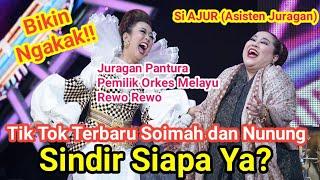 Ngakak Poll!! Video Tik Tok Soimah dan Nunung Terbaru Bikin Mules, Caption-nya Sindir Siapa Ya?