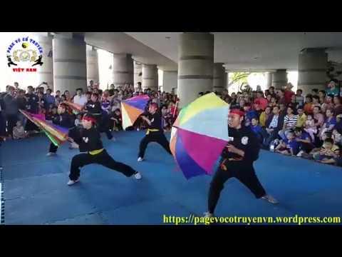 Biểu diễn võ cổ truyền ngày giỗ tổ Hùng Vương 10/03 ÂL năm 2019