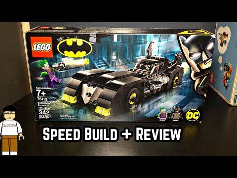 LEGO Batmobile: Pursuit of The Joker Set 76119: Review