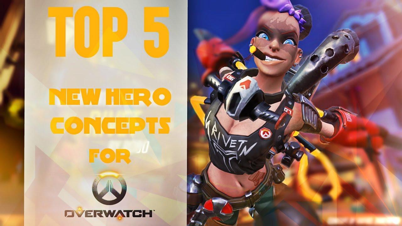 Download Overwatch : NOUVEAUX HEROS ?! TOP 5 NEW HERO CONCEPTS [FR]