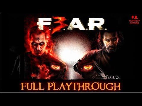 FEAR 3 | Full Playthrough | Longplay Gameplay Walkthrough 1080P HD No Commentary