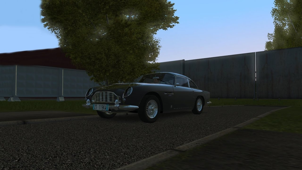 City Car Driving 1.5.2 Aston Martin DB5 Logitech G27 [1080p]