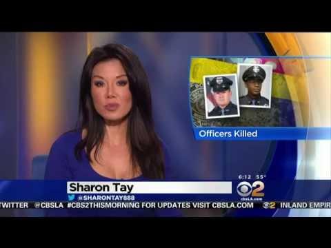 Sharon Tay 2015/05/11 CBS2 HD