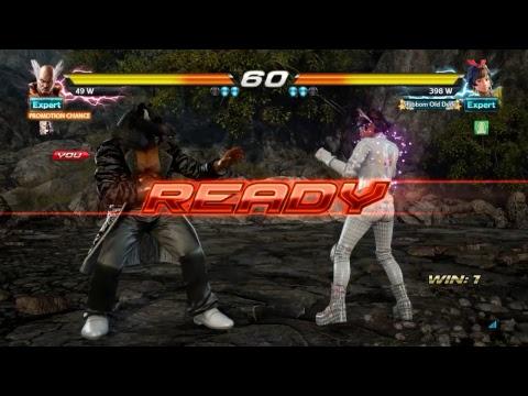 Tekken 7 - Heihachi gets hard earned promotion to Grand Master against Josie