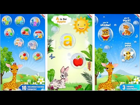 bubbles school for toddlers cfc sro education games learning color alphabet numbers animals