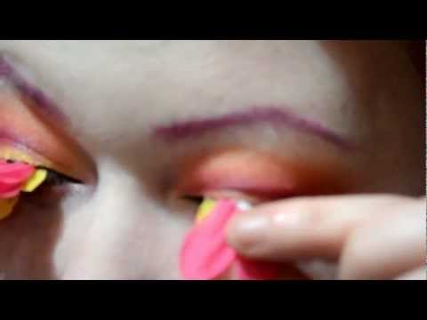 "DIY- How to create ""Petal Lashes"""
