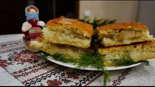 Бабушкин пирог с рыбой