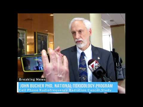 Dr. John Bucher National Toxicology Program Explains How To Reduce Cell Phone Radiation
