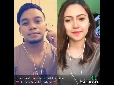 Smule Leehin & Shima (Duet) - Bila Cinta Di Dusta