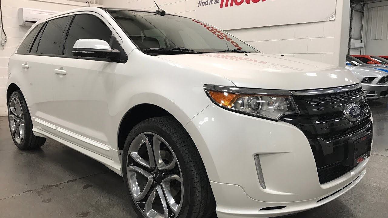 2014 Ford Edge Sold Sold Sold Nav Sport Platinum White 22