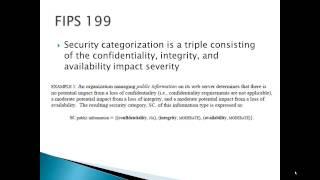 FIPS 199 200