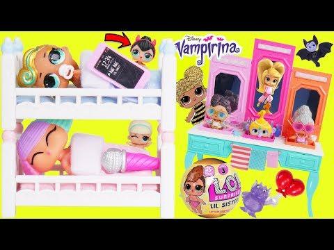 LOL Surprise Dolls Lil Sisters use Barbie Triple Sink