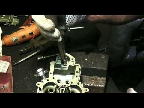 Светлов ремонт карбюратора  к151 часть  2