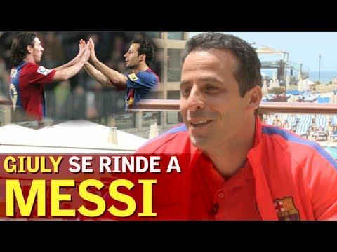 Giuly explica qué pensó cuando Messi le quitó la titularidad | Diario AS