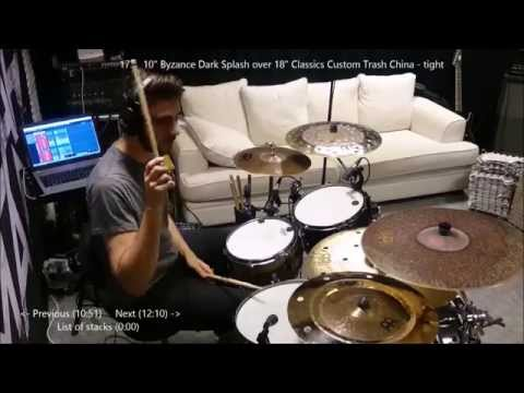 How To Stack Cymbals: 59 Stack Demos + Tips And Tricks - Siros Vaziri