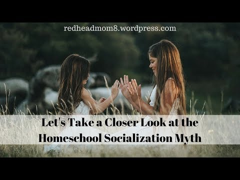 Let's Take a Closer Look at the Homeschool Socialization Myth