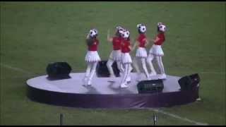 """Apieth Berserk Scream"" Crayon Pop Live - GBK Stadium, Jakarta, Indonesia ~2 June 2014~"