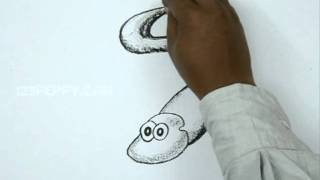 How to Draw an Electric Eel
