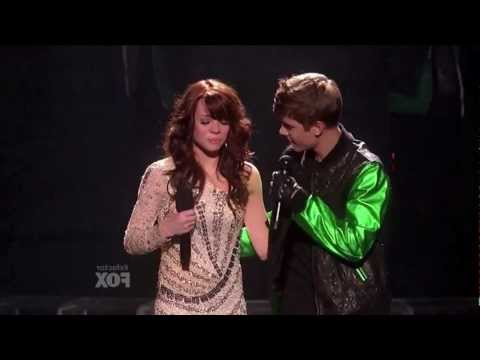 """Justin Bieber """"Santa Claus is Coming To Town"""" X Factor Finals (HD).mov"""
