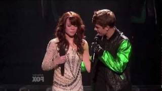 "Justin Bieber ""Santa Claus is Coming To Town"" X Factor Finals (HD).mov"