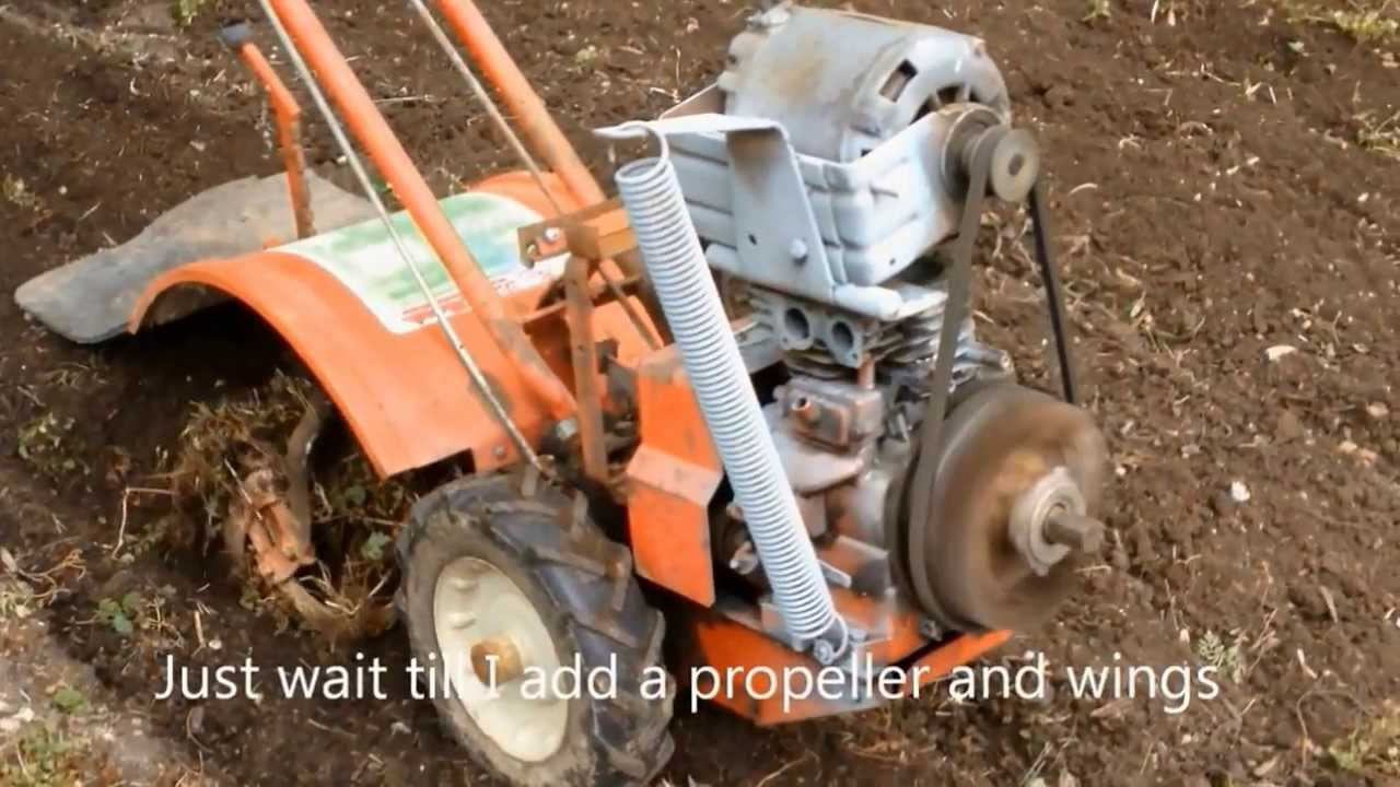 Easy electric garden tilling simple and good electric tiller