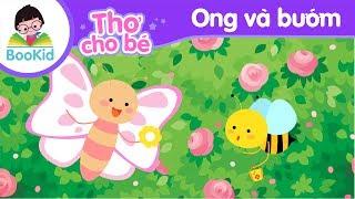 Bài thơ Ong và Bướm | Thơ cho bé | Thơ mầm non | Thơ thiếu nhi | Giáo dục trẻ em | Bookid