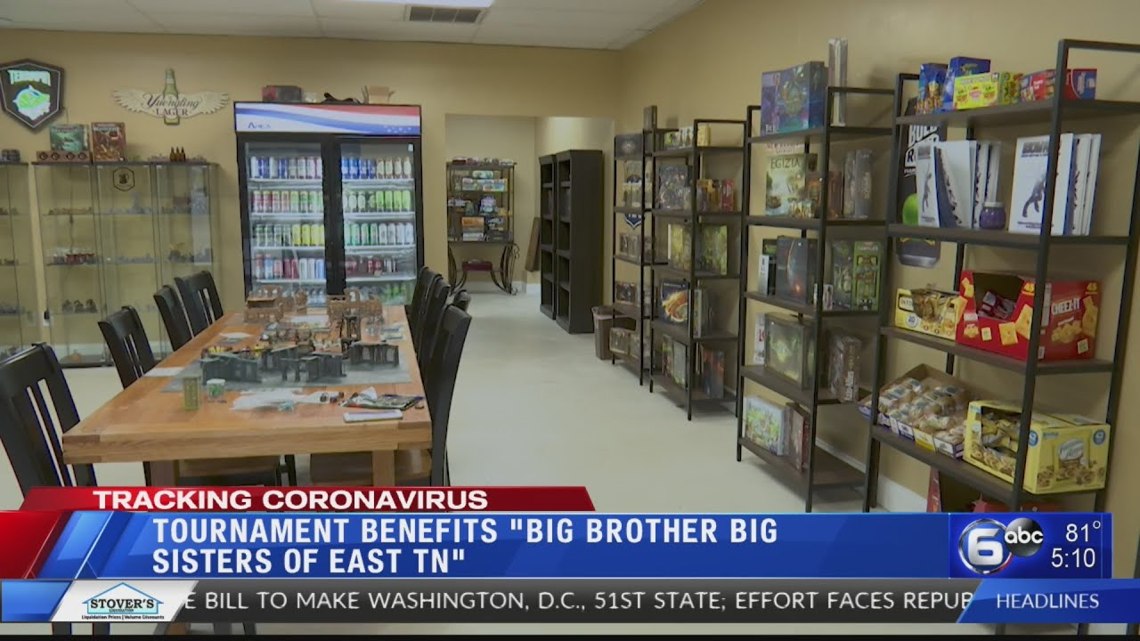 Knoxville gaming store donates tournament proceeds to Big Brothers Big Sisters of East Tennessee