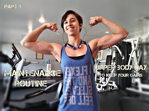 Maintenance Routine: Upper Body (New gym? No problem!)
