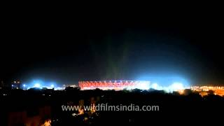 Fourth largest multipurpose stadium in India - Jawaharlal Nehru Stadium, Delhi