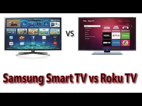 Samsung Smart TV Vs Roku TV