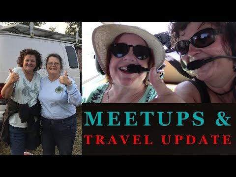 Awesome Meet Ups and My Travel Plan Update