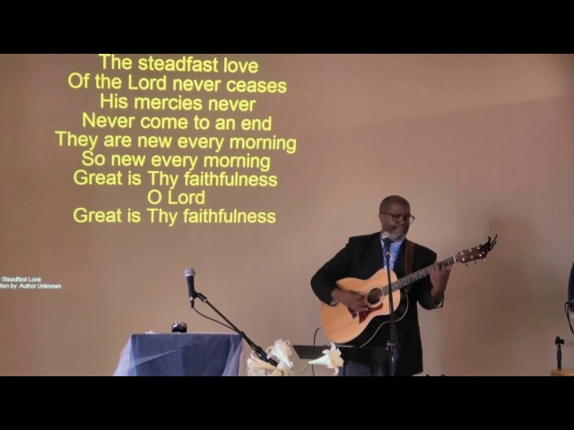 The Steadfast Love -  cover -  George Hillman