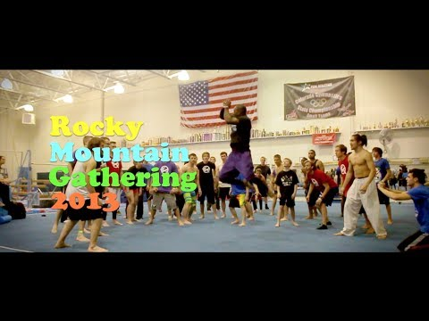 ROCKY MOUNTAIN TRICKING GATHERING. COLORADO GYM SESSION