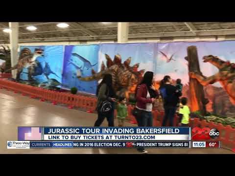 Jurassic Tour Invading Bakersfield