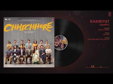 Download Lagu  Full  Audio Khairiyat,Happy, | CHHICHHORE | Sushant Shraddha | Pritam Amitabh Bhattacharya,| Song, Mp3 Free